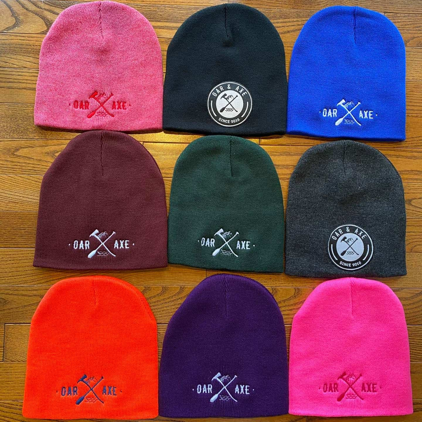 Oar & Axe beanies at Lemonceillo