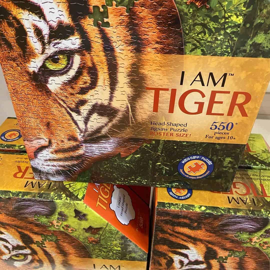 I Am Tiger MaddCapp Puzzle