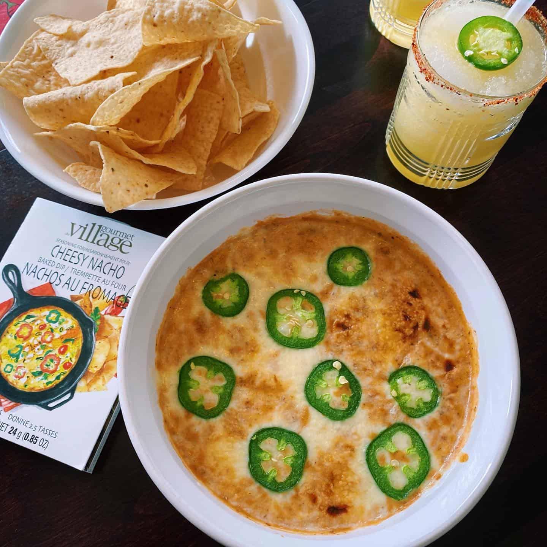 Time for Cheesy Nachos & Margaritas